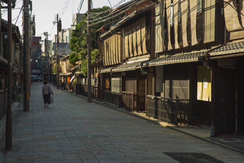 Rural Neighborhood in Japan
