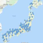 Cheap Houses Japan Newsletter Map